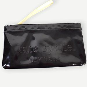 Kate Spade New York Black Patent Leather Pouch
